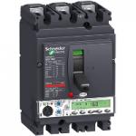 Автоматичен прекъсвач, лят корпус NSX160 Micrologic 5.2 A (LSI защита, амметър), 160 A, 3P/3d, F