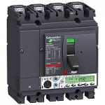 Автоматичен прекъсвач, лят корпус NSX250 Micrologic 5.2 A (LSI защита, амметър), 100 A, 4P, N