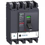 Автоматичен прекъсвач, лят корпус NSX400 Micrologic 2.3 (LSoI защита), 400 A, 4P, F