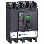 Автоматичен прекъсвач, лят корпус NSX400 Micrologic 2.3 (LSoI защита), 400 A, 4P, N