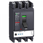 Автоматичен прекъсвач, лят корпус NSX630 Micrologic 2.3 (LSoI защита), 630 A, 3P/3d, F
