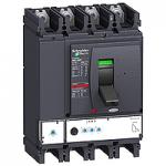 Автоматичен прекъсвач, лят корпус NSX630 Micrologic 2.3 (LSoI защита), 630 A, 4P, F