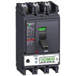 Автоматичен прекъсвач, лят корпус NSX630 Micrologic 5.3 A (LSI защита, амметър), 630 A, 3P/3d, H