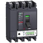 Автоматичен прекъсвач, лят корпус NSX630 Micrologic 5.3 A (LSI защита, амметър), 630 A, 4P/3d +OSN, H
