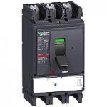 Автоматичен прекъсвач, лят корпус NSX630 Micrologic 1.3M (I защита за мотори), 500 A, 3P/3d, H