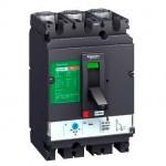 Автоматичен прекъсвач, лят корпус CVS100B, 25 kA, 100 A, 3P/3d, Термомагнитна защита