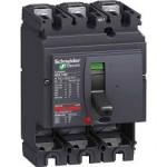 Автоматичен прекъсвач, лят корпус CVS100F, 36 kA, 100 A, 3P/3d, Термомагнитна защита
