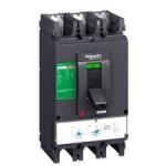 Автоматичен прекъсвач, лят корпус CVS400N, 50 kA, 400 A, 3P/3d, Термомагнитна защита