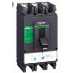 Molded case circuit-breaker CVS630F, 36 kA, 630 A, 4P/3d, Thermal-magnetic