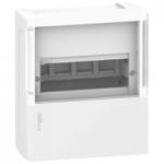 Mini Pragma табло за открит монтаж 1 x 4, с опушена врата
