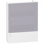 Mini Pragma табло за открит монтаж 2 x 12, с полупрозрачна врата