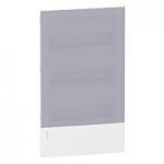 Mini Pragma вдадено табло за вграден монтаж 3 x 12, с Прозрачна врата