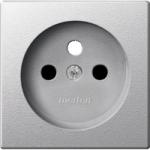 Капак за механизъм на контактен излаз със заземителен щифт, Алуминий