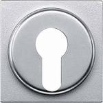 Капак за девиаторен превключвател, задействан от ключ за DIN цилиндрични ключалки, Алуминий