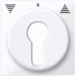 Капак за управление на ролетни щори със секретен ключ, Активно бяло