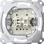 Механизъм за ключ за управление на ролетна щора с допълнителен контакт, еднополюсен