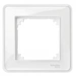 Рамка M-Creative Glass, едномодулна, Прозрачна