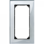 Рамка M-Elegance Glass, двумодулна, без разделител, Диамант