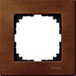 Рамка M-Elegance Wood, едномодулна, Череша