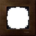 Рамка M-Elegance Wood, едномодулна, Орех