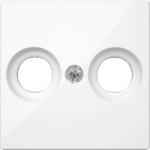 Капак за антена с два отвора, Активно бяло