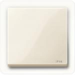 Капак за механизъм IP44, Бяло