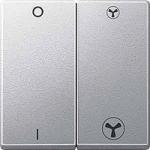 Капак на двумодулен ключ за вентилатор (VMC), Алуминий