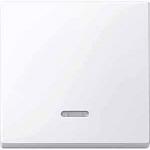 Капак за механизъм с индикаторна лампа, Активно бяло