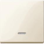 Капак за механизъм с индикаторна лампа, Бяло