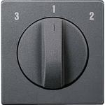 Капак на ротативен ключ за вентилатор, Антрацит