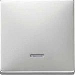 Капак за механизъм с индикаторна лампа, Неръждаема стомана
