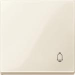 """Капак за механизъм със символ """"Звънец"""", Бяло"""