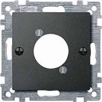 Капак за аудио конектор XLR, Антрацит