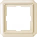 Рамка Antique, едномодулна, Крема