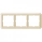 Рамка Antique, тримодулна, Крема