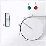Капак за подов термостат с ключ, Активно бяло