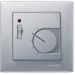 Капак за стаен термостат с ключ, Алуминий