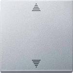 Бутон за управление на щори с функция  памет и сензорна връзка, Алуминий