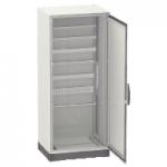 Моноблок шкаф с монтажна плоча Special SM, 2000x1600x400, 2 непрозрачни врати