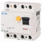 Дефектнотокова защита PF4, 4P, 40 A, 4.5 kA, 300 mA, AC