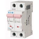 Миниатюрен автоматичен прекъсвач PL7, 2P, 50A, 10kA, C