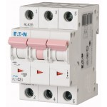Миниатюрен автоматичен прекъсвач PL7, 3P, 2A, 10kA, D