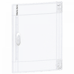 Прозрачна врата с възможност за персонализиране за табла за вграден и открит монтаж 1 x 13, кристал
