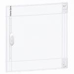 Прозрачна врата с възможност за персонализиране за табла за вграден и открит монтаж 2 x 18, кристал