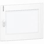 Прозрачна врата с възможност за персонализиране за табла за вграден и открит монтаж 2 x 24, кристал