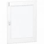 Прозрачна врата с възможност за персонализиране за табла за вграден и открит монтаж 4 x 24, кристал