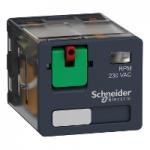 Силово реле RPM 3 З/О 24 V AC 15 A без светодиод