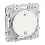 Механизъм за регулиране на скоростта на вентилатори 10 АХ, с безвинтови клеми, Бял