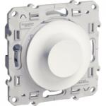Ротативен димер-девиатор 9-100 VA, Бял