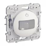 Детектор за движение и присъствие, 40-350 W, двупроводен, Бял